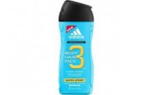 ADIDAS 3 - WATER  SPORT  pánský sprchový gel 250 ml