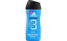 ADIDAS AFTER SPORT  3v1  pánsk sprch gel  250 ml