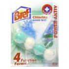 BREF POWER AKTIV   2 x 50  chlor a eucalyptus  -  vůně do wc